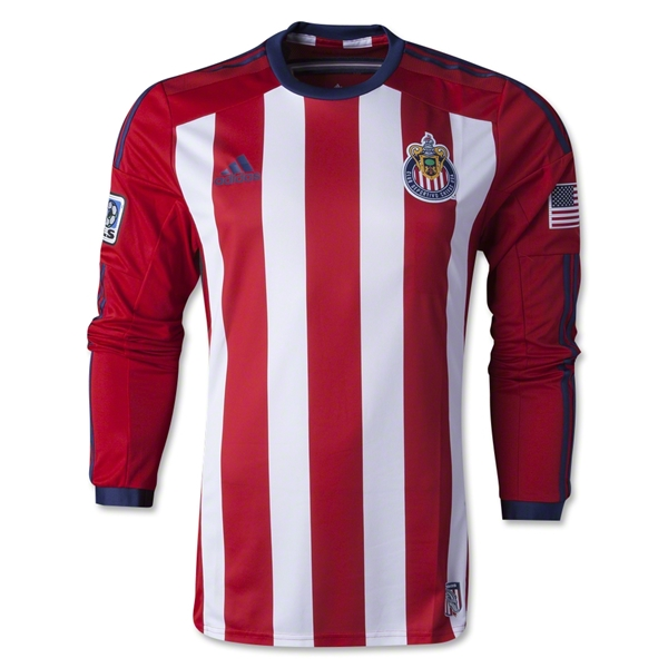Chivas USA 2014 LS Authentic Primary Soccer Jersey