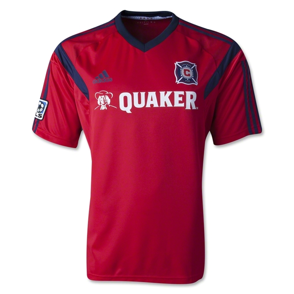 Chicago Fire 2014 Pregame Jersey
