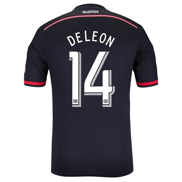 DC United 2014 DELEON Authentic Primary Soccer Jersey