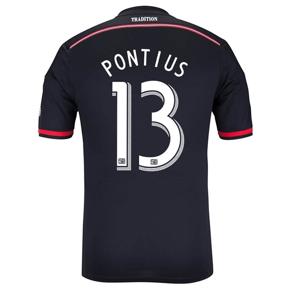 DC United 2014 PONTIUS Authentic Primary Soccer Jersey
