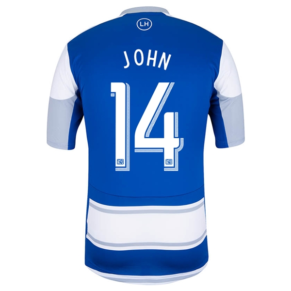 FC Dallas 2014 JOHN Authentic Secondary Soccer Jersey
