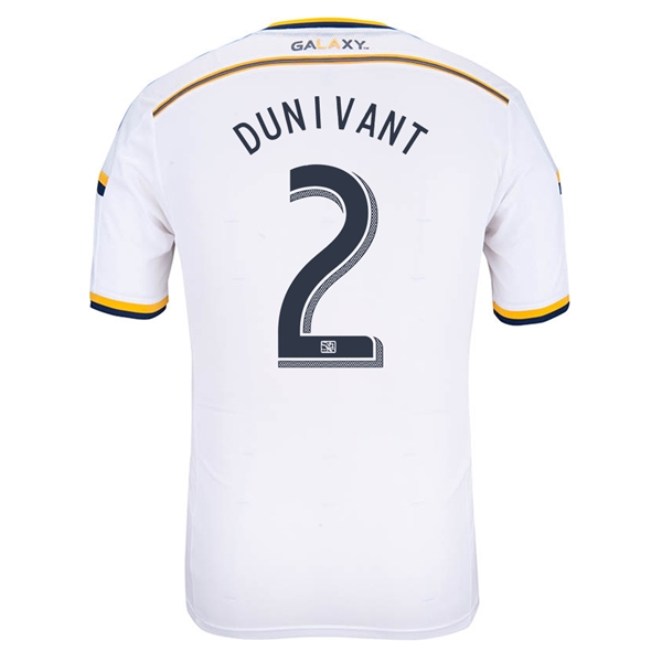 LA Galaxy 2014 DUNIVANT Authentic Primary Soccer Jersey