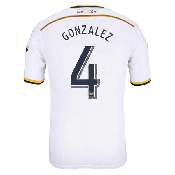 LA Galaxy 2014 GONZALEZ Authentic Primary Soccer Jersey