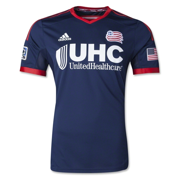 New England Revolution 2014 Authentic Primary Soccer Jersey