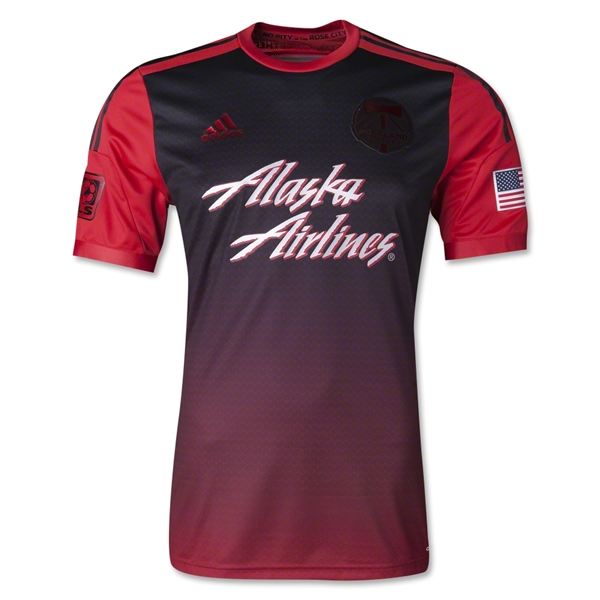 Portland Timbers 2014 Authentic Secondary Soccer Jersey