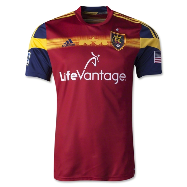 Real Salt Lake 2014 Authentic Primary Soccer Jersey