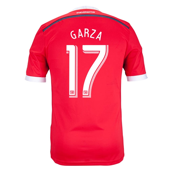 San Jose Earthquakes 2014 GARZA Authentic Secondary Soccer Jersey