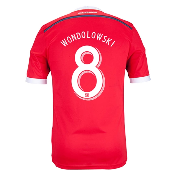 San Jose Earthquakes 2014 WONDOLOWSKI Authentic Secondary Soccer Jersey