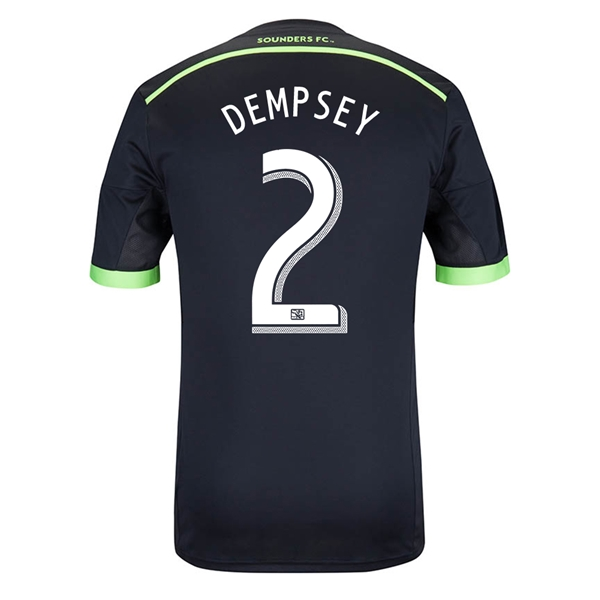 Seattle Sounders 2014 DEMPSEY Authentic Third Soccer Jersey