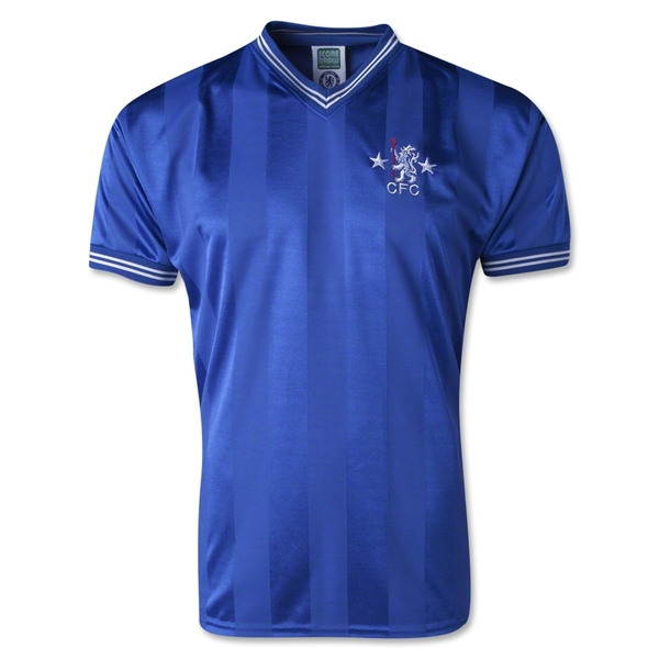 Chelsea 1986 Retro Home Soccer Jersey