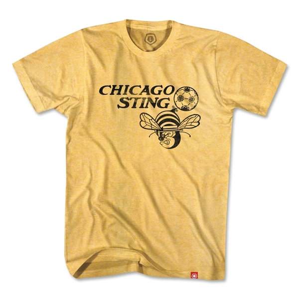 Objectivo Chicago Sting T-Shirt (Gold)