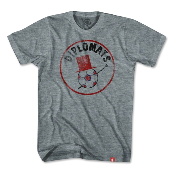 Objectivo Washington Diplomats T-Shirt (Gray)