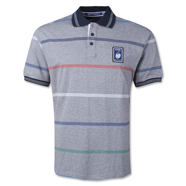 Six Nations 2014 Stripe Polo