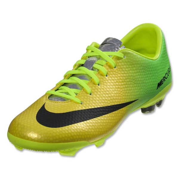 Nike Junior Mercurial Vapor IX FG (Vibrant Yellow/Black/Neo Lime)