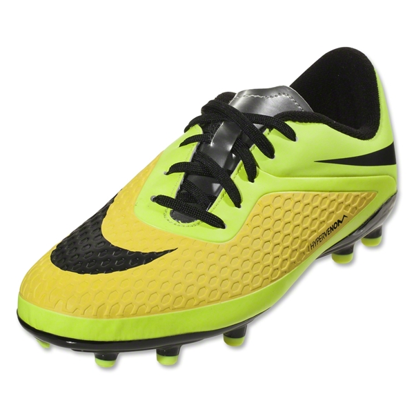 Nike Junior Hypervenom Phelon FG (Vibrant Yellow)