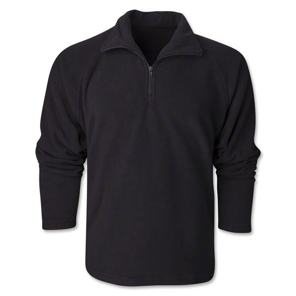 1/4 Zip Fleece Jacket (Black)
