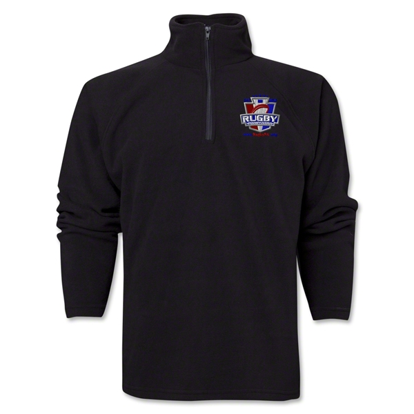 Rugby PA 1/4 Zip Jacket (Black)