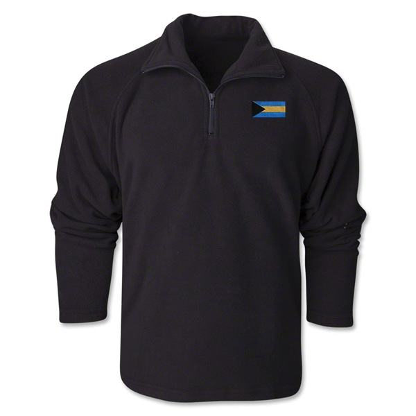 Bahamas Flag 1/4 Fleece Pullover