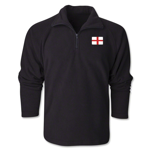 England Flag 1/4 Fleece Pullover
