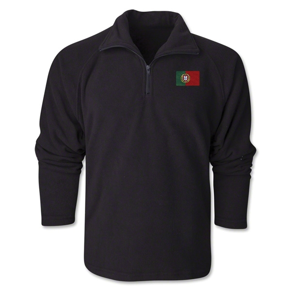 Portugal Flag 1/4 Fleece Pullover