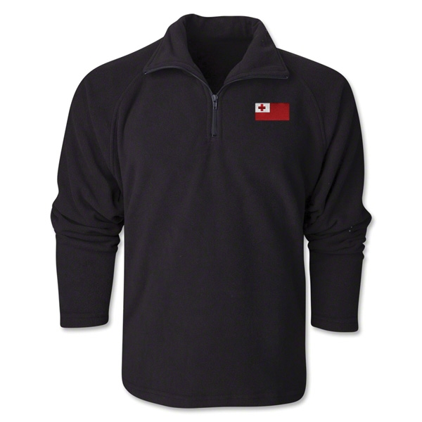 Tonga Flag 1/4 Fleece Pullover