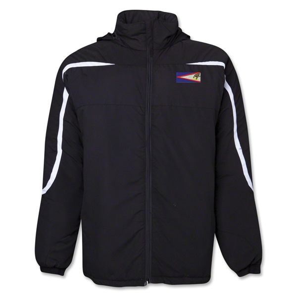 American Samoa Flag All Weather Storm Jacket