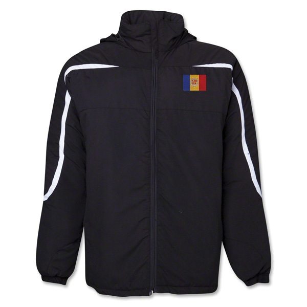 Andorra Flag All Weather Storm Jacket