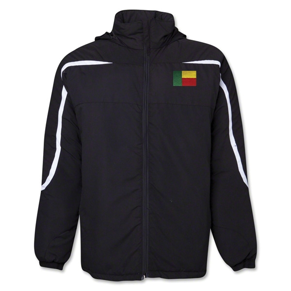 Benin Flag All Weather Storm Jacket