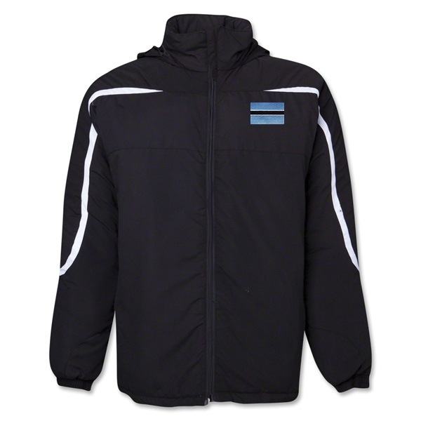 Botswana Flag All Weather Storm Jacket