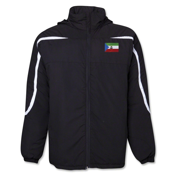 Equitorial Guinea Flag All Weather Storm Jacket