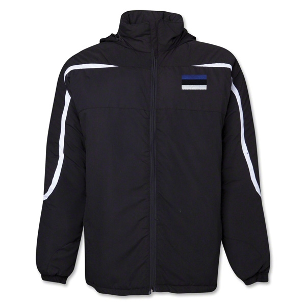 Estonia Flag All Weather Storm Jacket