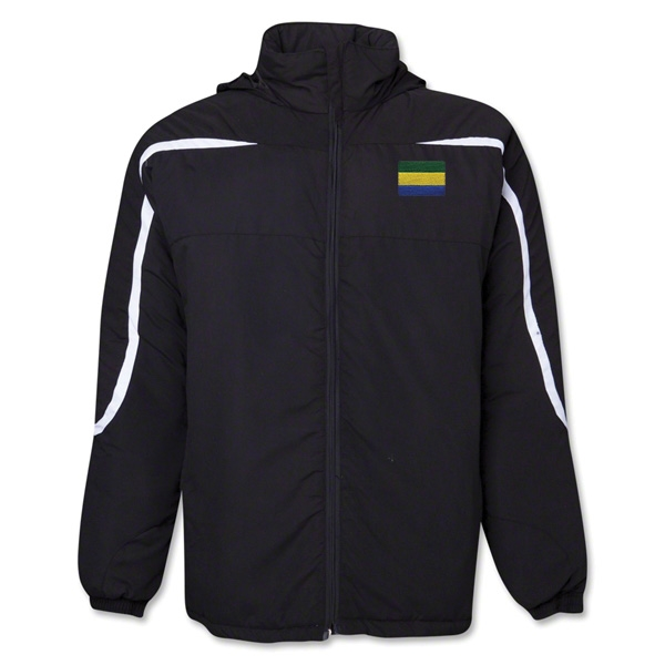 Gabon Flag All Weather Storm Jacket