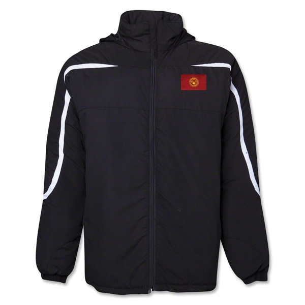 Kyrgyzstan Flag All Weather Storm Jacket