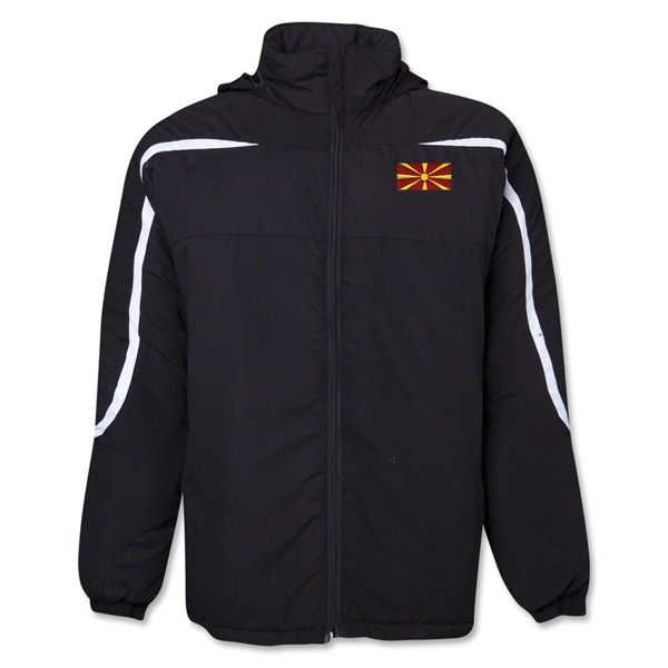 Macedonia Flag All Weather Storm Jacket