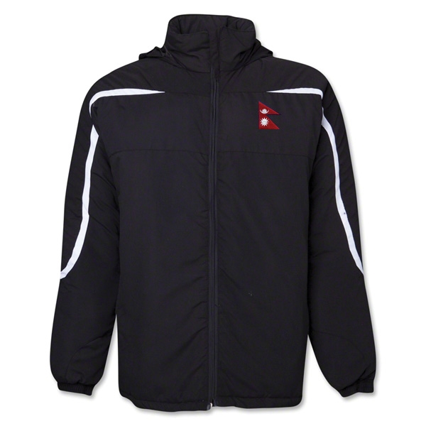 Nepal Flag All Weather Storm Jacket