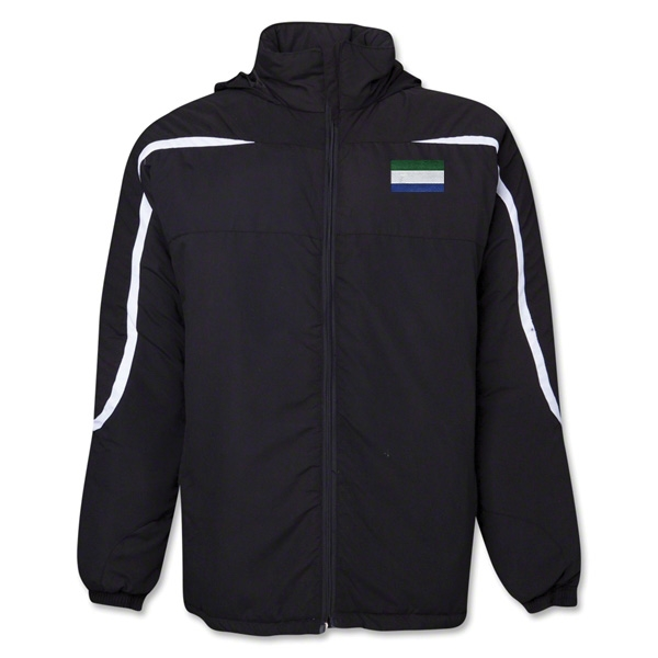 Sierra Leone Flag All Weather Storm Jacket