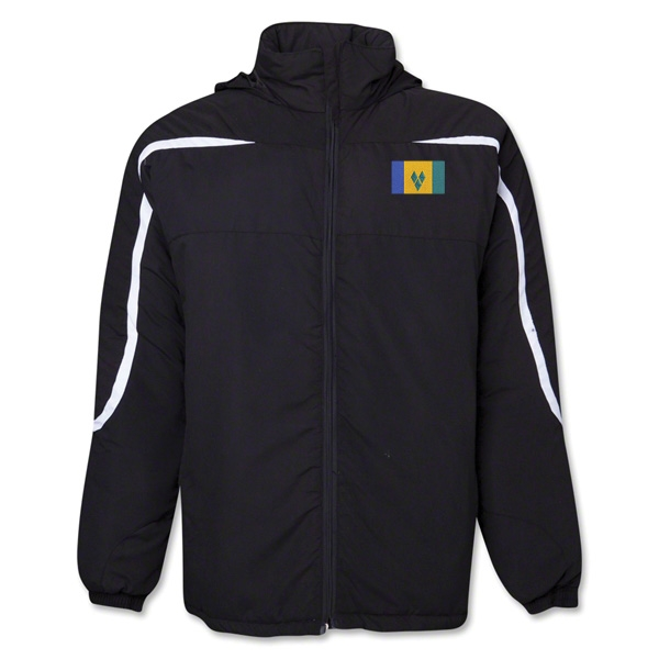 St. Vincent & Grenadines Flag All Weather Storm Jacket
