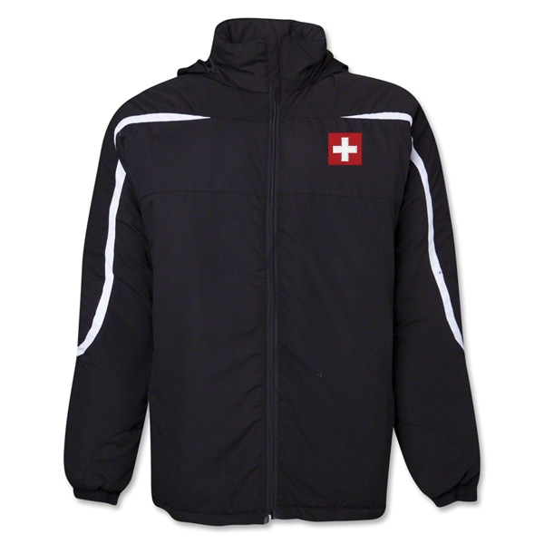 Switzerland Flag All Weather Storm Jacket