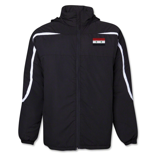 Syria Flag All Weather Storm Jacket