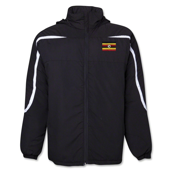 Uganda Flag All Weather Storm Jacket