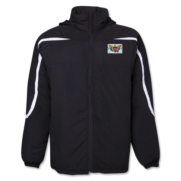 US Virgin Islands Flag All Weather Storm Jacket
