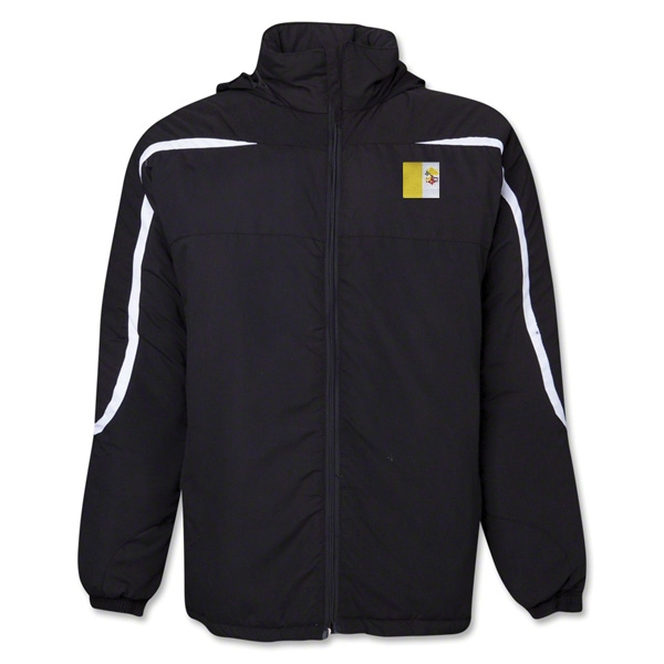Vatican City Flag All Weather Storm Jacket