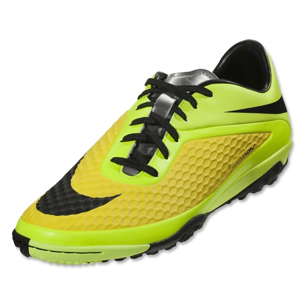 Nike HyperVenom Phelon TF (Vibrant Yellow/Black/Metallic Silver/Volt)