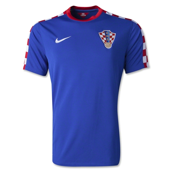 Croatia 2014 Away Soccer Jersey