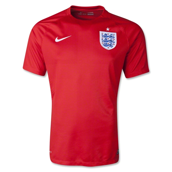 England 2014 Authentic Away Soccer Jersey