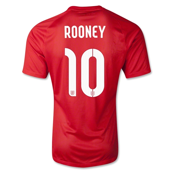 England 14/15 ROONEY Away Soccer Jersey