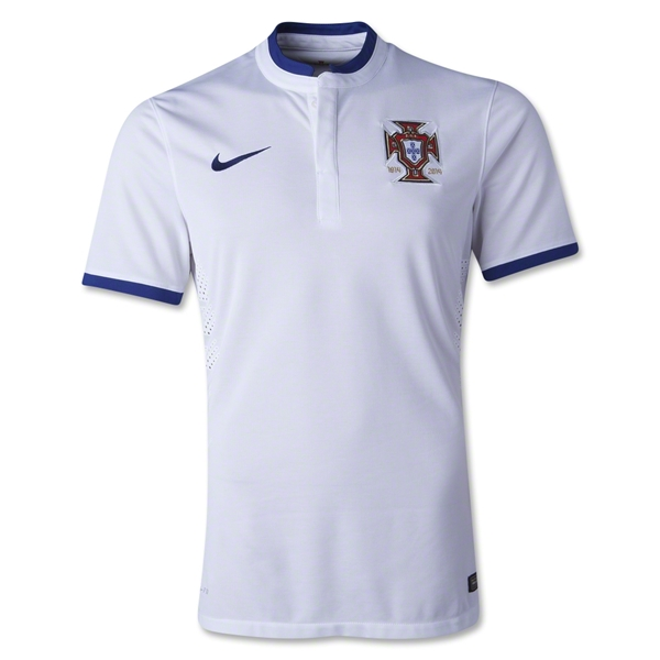 Portugal 14/15 Authentic Away Soccer Jersey