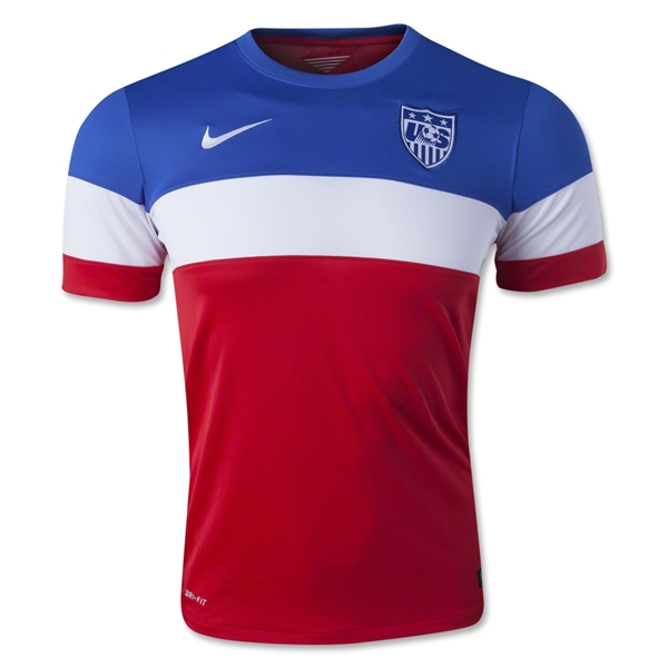 USA 2014 Away Soccer Jersey