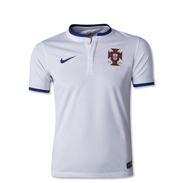 Portugal 2014 Youth Away Soccer Jersey