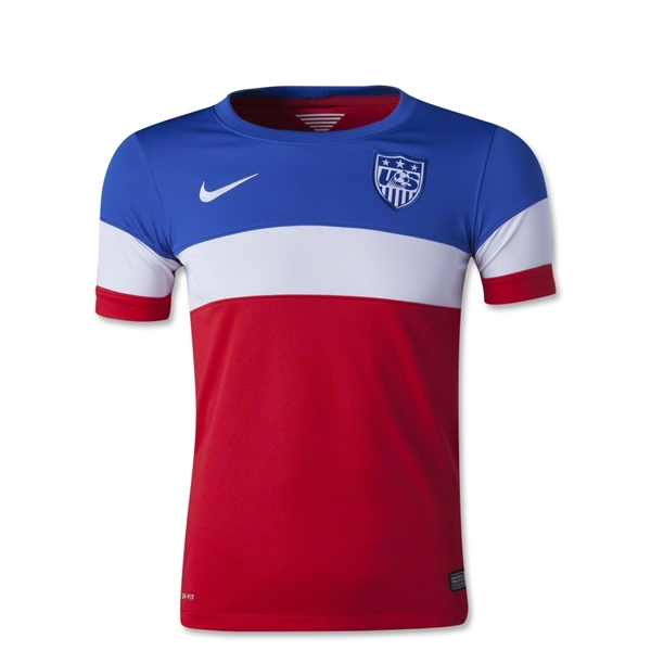 USA 14/15 Youth Away Soccer Jersey